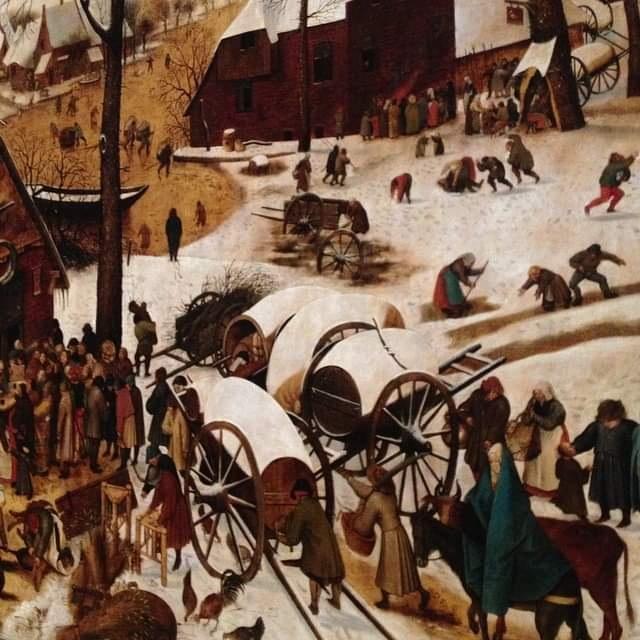 bruegel scenes d'hiver