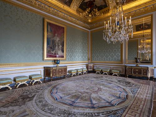 'Antichambre des Nobles  Marie-Antoinette versailles
