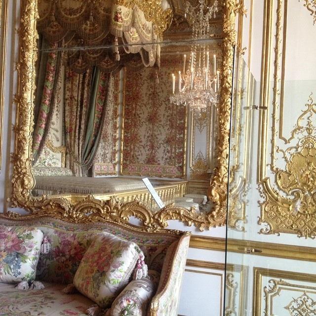 château de Versailles chambre de marie=antoinette