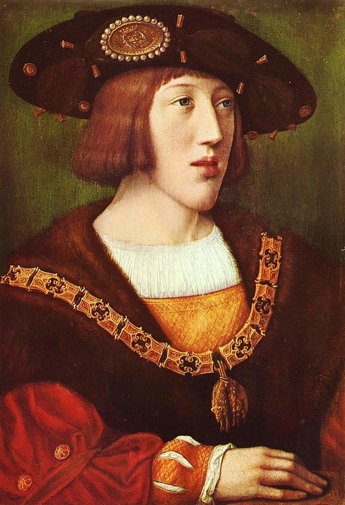 Bernard van Orley portrait de Charles Quint