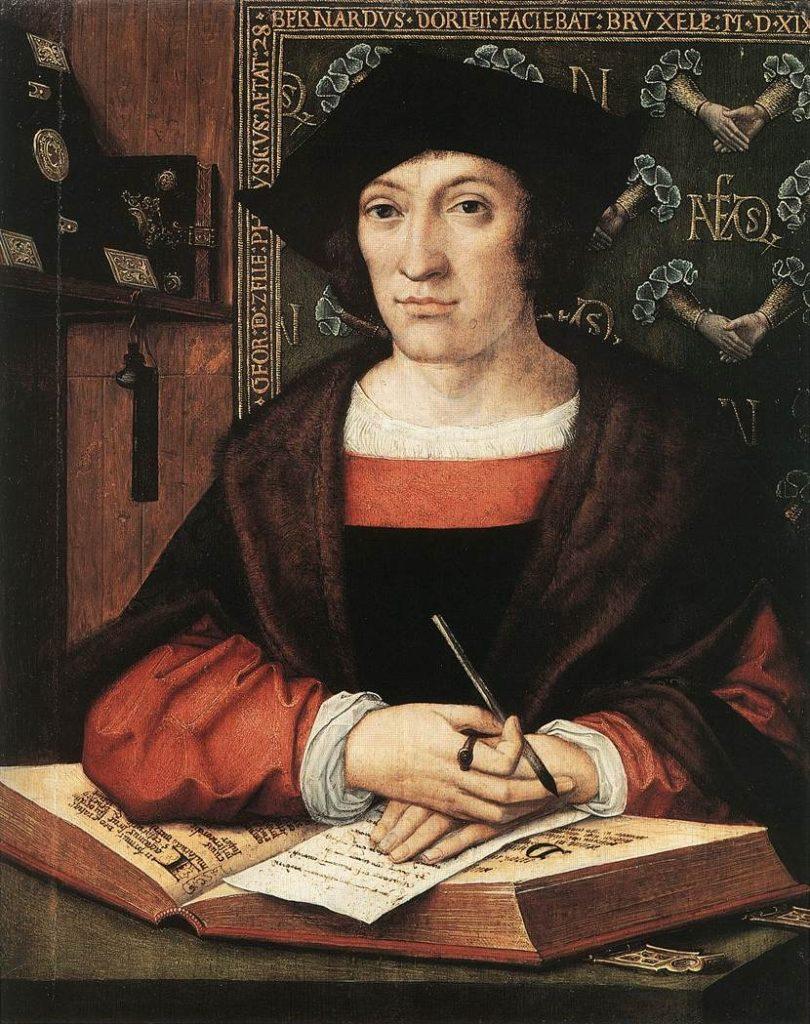 Bernard van Orley portrait de joris van zelle