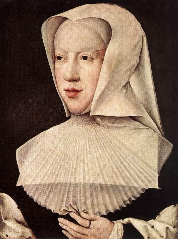 Bernard van Orley portrait de Marguerite d'Autriche
