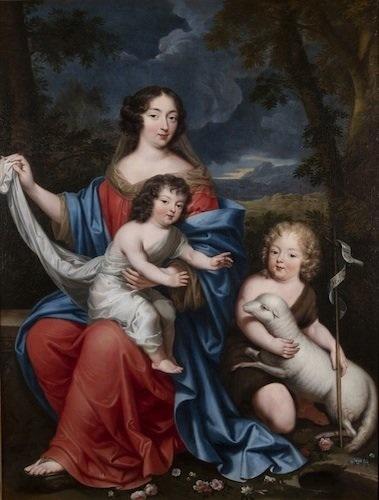 madame de maintenon gouvernante des enfants royaux adultérins