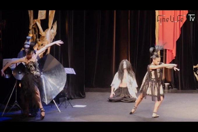 franck sorbier la chant des obis ballerines de l'opéra garnier