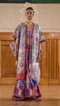 marizio galante resplandor haute couture collection cosmogonique ensemble