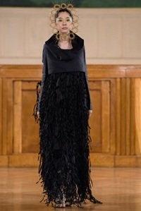 marizio galante resplandor haute couture collection cosmogonique robe noire