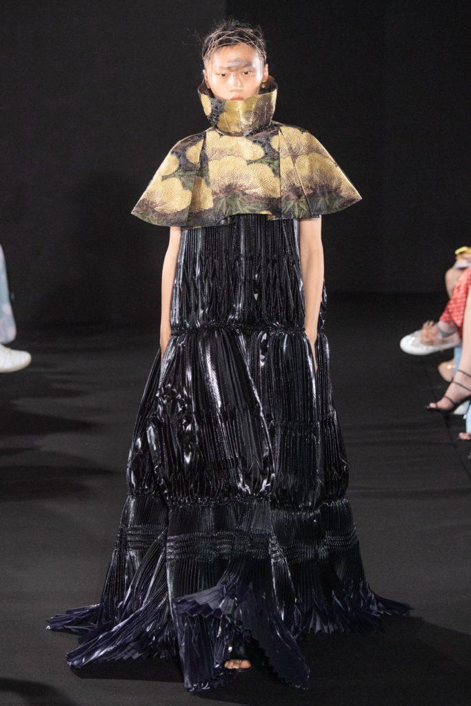 Yumi Katsura : the poetry of Suminagash robe noire