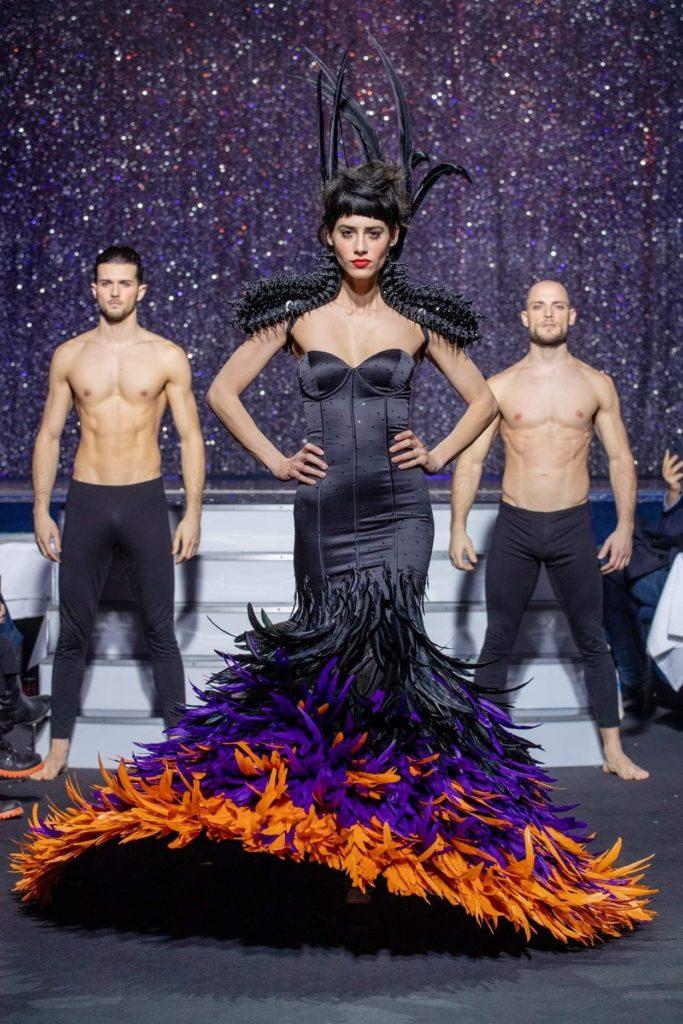 On Aura Tout Vu haute couture SS 20 : mon truc en plumes robe plumes