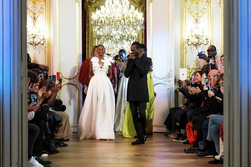 Imane Ayissi : premier défilé PFW Haute Couture final