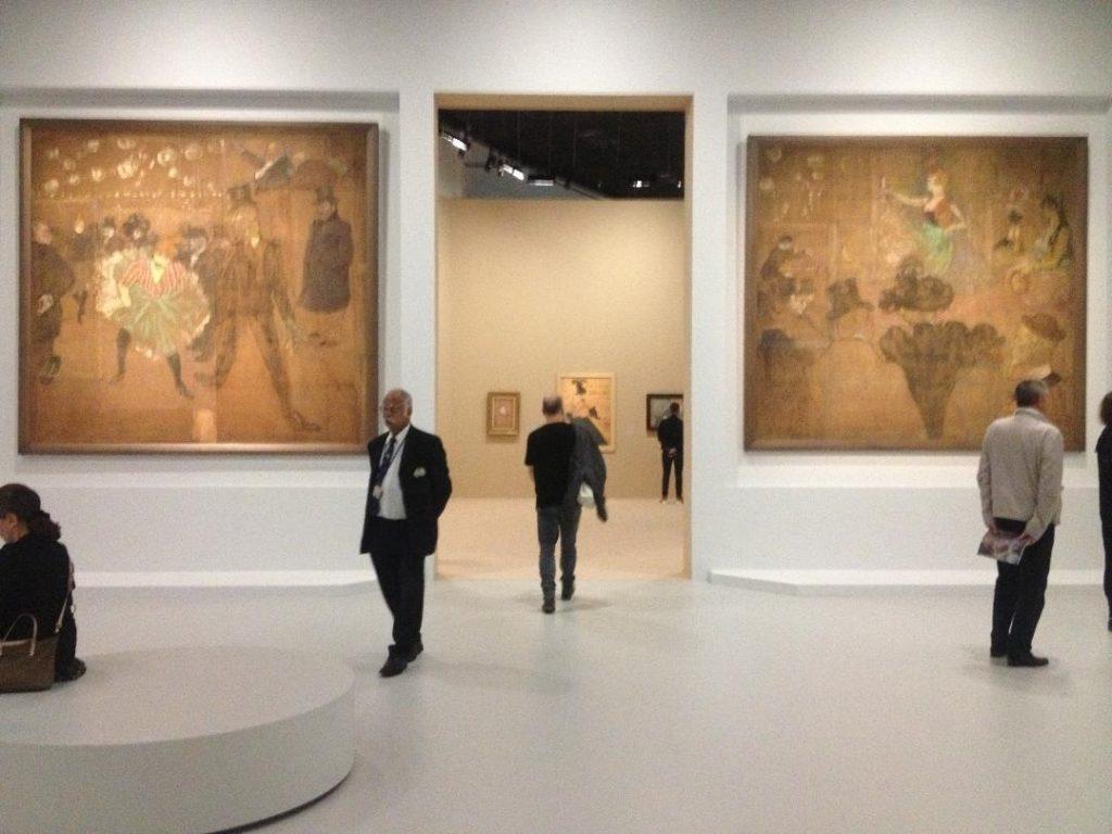 Toulouse Lautrec moderne et intime affiches