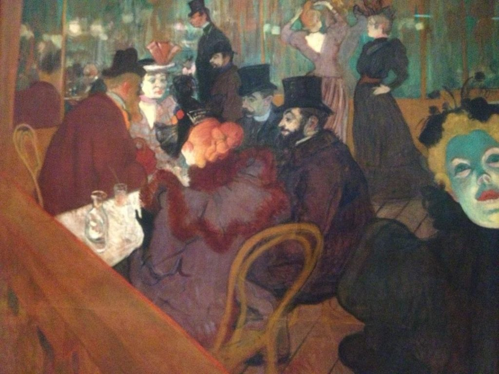 Toulouse Lautrec modernet et intime café