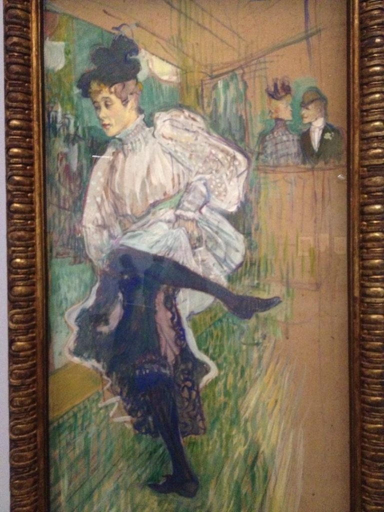 Toulouse Lautrec moderne et intime french canacan