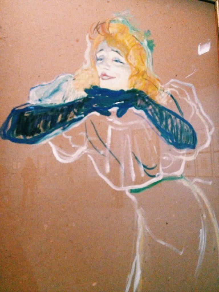 Toulouse Lautrec moderne et intime les gants yvette guilbert