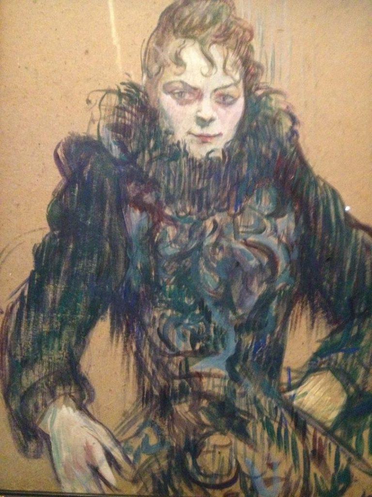 Toulouse Lautrec moderne et intime portrait femme