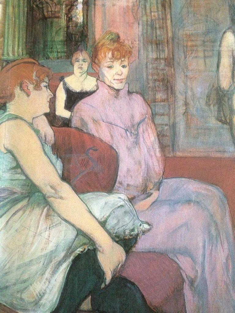 Toulouse Lautrec moderne et intime prostiuées
