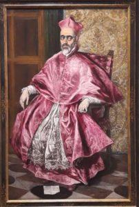 Exposition Greco -Grand Palais : le migrant magnétique cardinal guerara