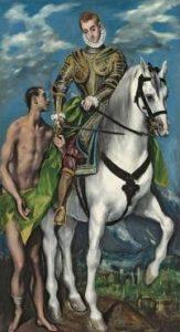 Exposition Greco -Grand Palais : le migrant magnétique saint martin et le pauvre