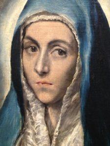 Exposition Greco -Grand Palais : le migrant magnétique vierge marie