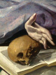 """Exposition Greco : Guillaume Kientz """"Le Greco échappe à tout sauf à l'admiration""""detail main"""