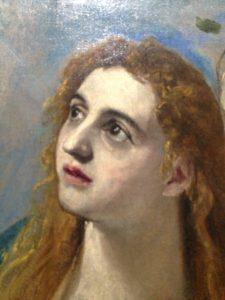 """Exposition Greco : Guillaume Kientz """"Le Greco échappe à tout sauf à l'admiration"""" detail marie madeleine"""