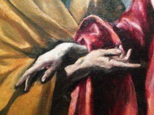 """Exposition Greco : Guillaume Kientz """"Le Greco échappe à tout sauf à l'admiration"""" saint pierre saint paul"""