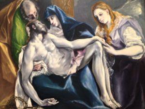 """Exposition Greco : Guillaume Kientz """"Le Greco échappe à tout sauf à l'admiration"""" pieta"""